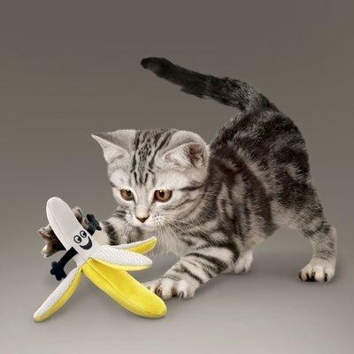 KONG Better Buzz Banana Katzenspielzeug Preview Image