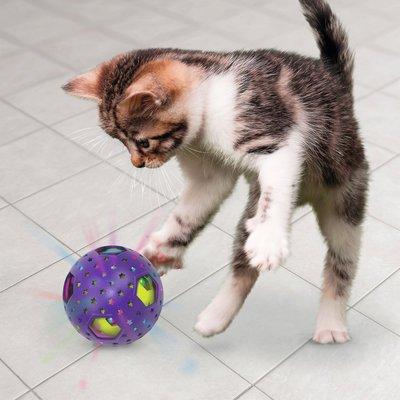 KONG Katzenspielzeug Bat-A-Bout Flicker Disco Preview Image
