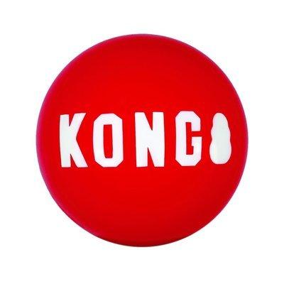 KONG Signature Balls Hundeball 2er Pack