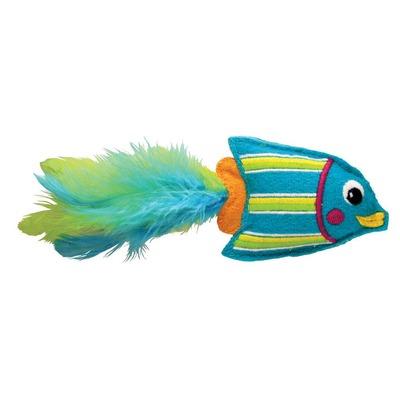 KONG Tropics Katzenspielzeug, Blau