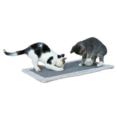 Kratzmatte für Katzen grau