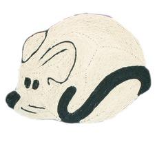 Kratzmatte Maus für Katze, 56 × 40 cm