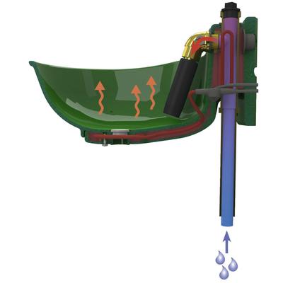 Kerbl Kunststofftränkebecken heizbar HP20 Preview Image