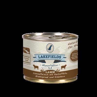 Lakefields Dosenfleisch-Menü Lamm