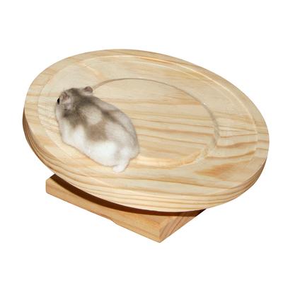 Kerbl Laufteller Holz für Hamster