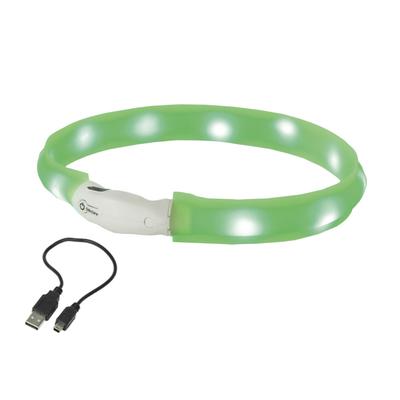 LED Leuchtband für Hunde breit VISIBLE