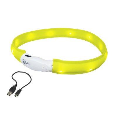 Nobby LED Leuchtband für Hunde breit VISIBLE