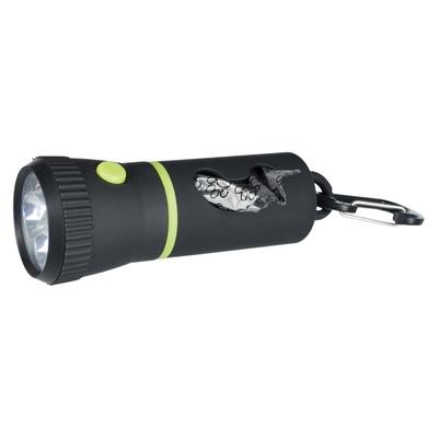 Trixie LED Taschenlampe mit Kotbeutel-Spender