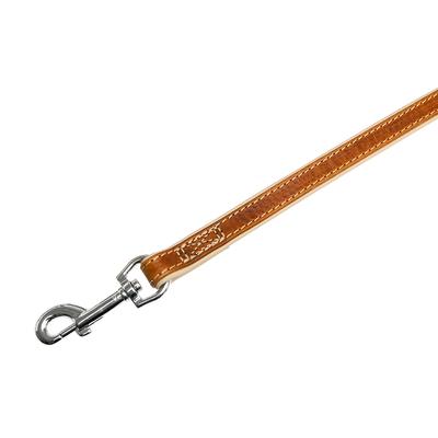Lederleine Comfort für Hunde, braun - L: 100 cm B: 14 mm