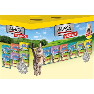 MACs Cat Nassfutter Pack Multipack Mischpaket
