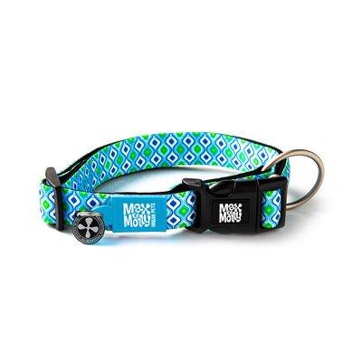 Max & Molly Smart ID Halsband Retro Blue