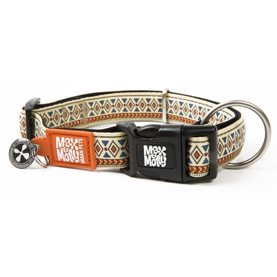 Max & Molly Smart ID Hundehalsband Ethnic