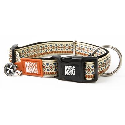 Max & Molly Smart ID Hundehalsband Ethnic
