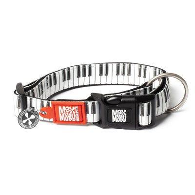 Max & Molly Smart ID Hundehalsband Piano
