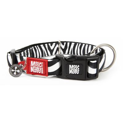 Max & Molly Smart ID Hundehalsband Zebra Classic
