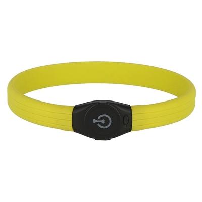 Kerbl Maxi Safe LED-Halsband für Langhaar Hunde