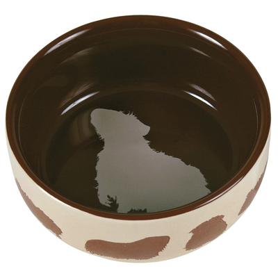 TRIXIE Meerschweinchennapf aus Keramik mit Motiv