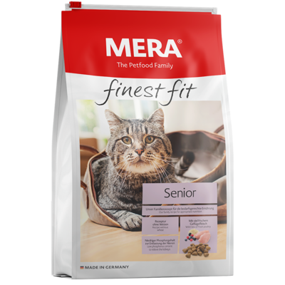Mera Cat finest fit Trockenfutter Senior Katzenfutter