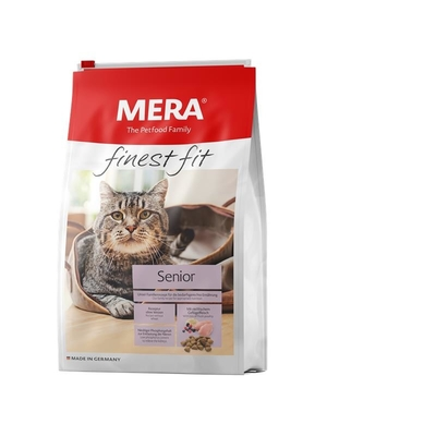 Mera Cat finest fit Trockenfutter Senior Katzenfutter, 4 kg