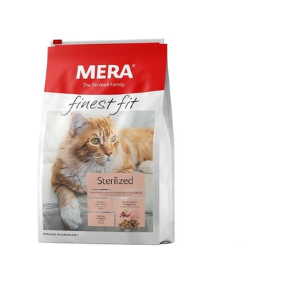 Mera Cat finest fit Trockenfutter Sterilized, 4kg