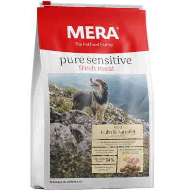 Mera Dog Pure Sensitive Fresh Meat Huhn & Kartoffel, 12,5kg