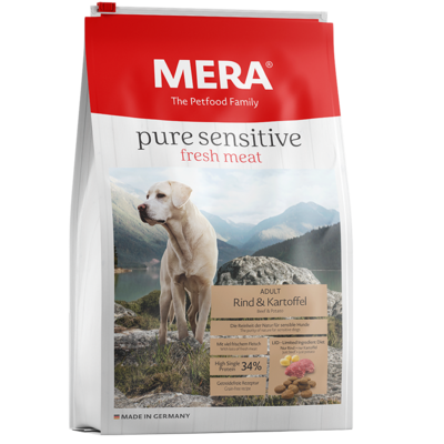 Mera Dog Pure Sensitive Fresh Meat Rind & Kartoffel, 12,5kg