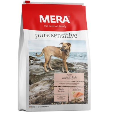 Mera Dog Pure Sensitive Lachs & Reis, 12,5kg