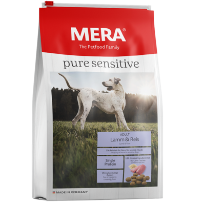 Mera Dog Pure Sensitive Lamm & Reis Hundefutter, 12,5kg