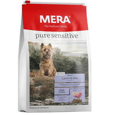 Mera Dog Pure Sensitive Mini Lamm & Reis