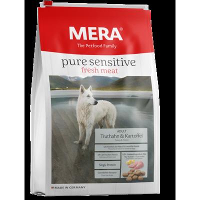 Mera Dog Meradog Pure Sensitive Truthahn und Kartoffel Hundefutter