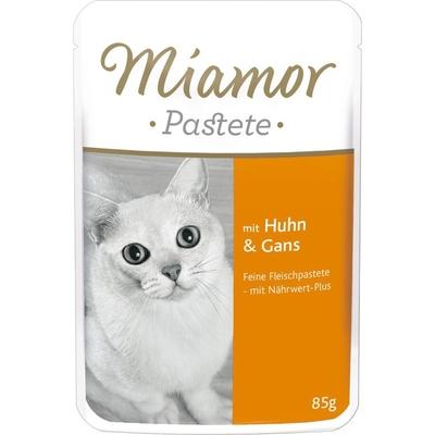 Miamor Pastete, Huhn & Gans 24x85g im Portionsbeutel