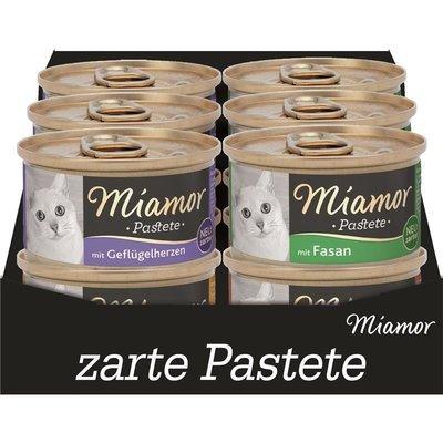 Miamor Pasteten Multibox in Dosen Katzen Futter Preview Image