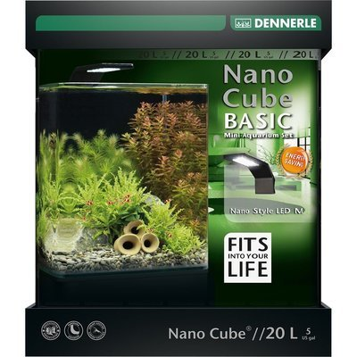 Dennerle NanoCube Basic Style LED Aquarium