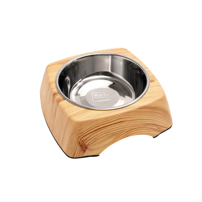 Napf Kulho Wood Holz Optik, 1400 ml Kiefer