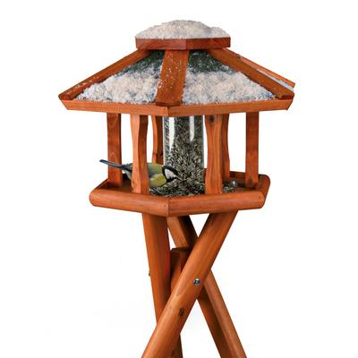 Natura Vogelhaus Futterhaus Mit Silo 5573 Von Trixie Gunstig