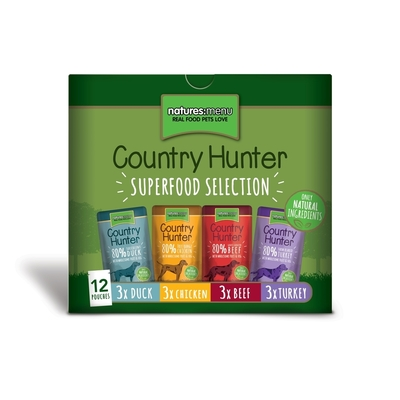 Natures Menu Country Hunter Hundefutter Multipack