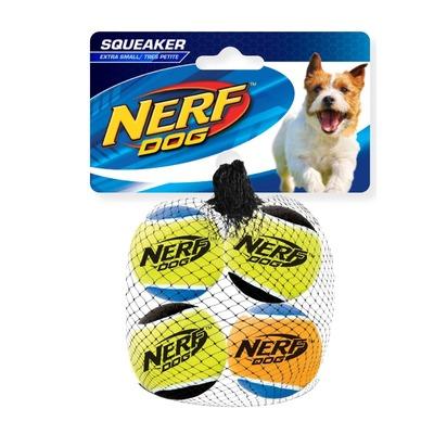NERF Dog Tennisbälle mit Quietscher