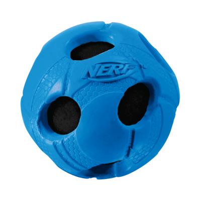 NERF Dog Tennisball gummiummantelt mit Quietscher