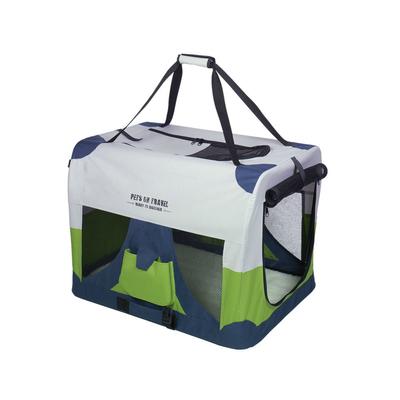 Nobby Hautier Reisebox Traveller FASHION, XL: 82 x 59 x 59 cm, grau/blau/grün