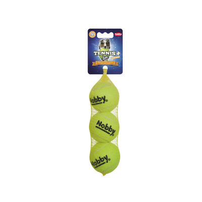 Nobby Hunde Tennisbälle mit Squeaker