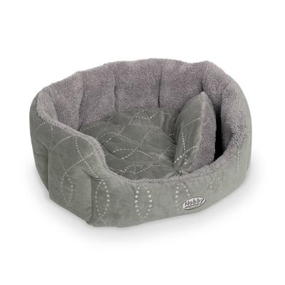 Nobby Komfortbett für Hunde und Katzen Ceno, L x B x H: 86 x 70 x 24 cm, grau