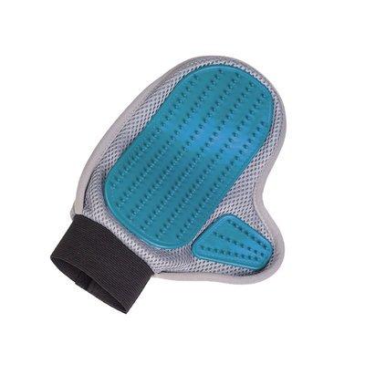 Nobby Pflegehandschuh Gummi- und Mikrofaserseite