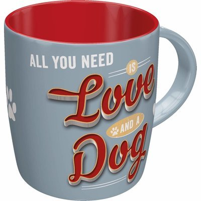 Nostalgic-Art Becher Love Dog Preview Image