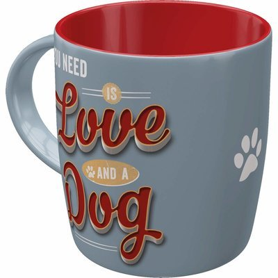 Nostalgic-Art Becher Love Dog