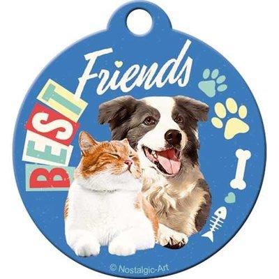 Nostalgic-Art Best Friends Cat & Dog, Schlüsselanhänger Preview Image