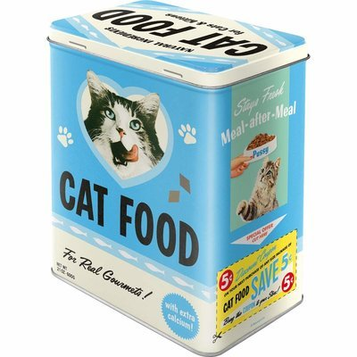 Nostalgic-Art Cat Food - Love Mix, Vorratsdose