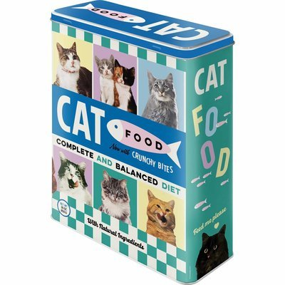 Nostalgic-Art Cat Food, Vorratsdose