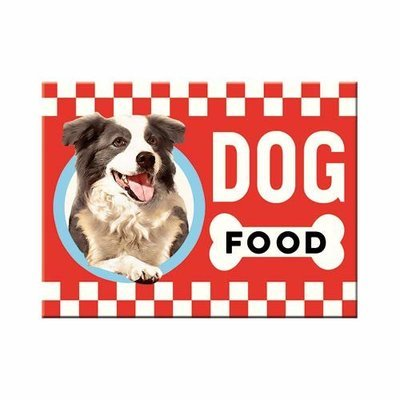 Nostalgic-Art Dog Food, Magnet