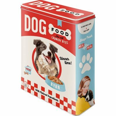 Nostalgic-Art Dog Food, Vorratsdose