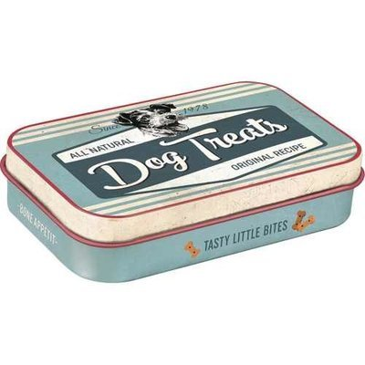 Nostalgic-Art Dog Treats Blue, Leckerli-Dose